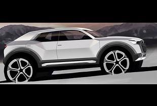 Audi подтвердила выпуск маленького кроссовера Q1 в 2016 году