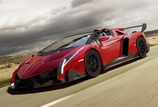 Компания Lamborghini представила родстер Veneno