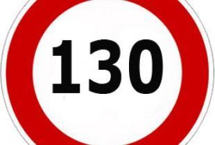 В России на трех участках трассы Дон разрешили скорость 130 км/час